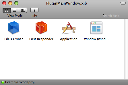 Plug-ins Window Structure