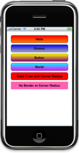 Colorful Buttons App