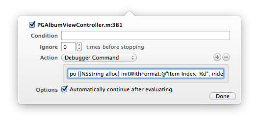 Xcode LLDB Tutorial: Format String In Debugger