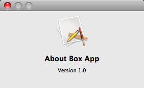 Default About Box