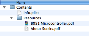 PDF Keeper Hierarchy
