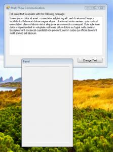 Multi-View Communication Windows
