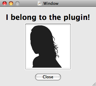 Plug-ins Window