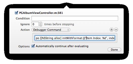 Xcode LLDB Tutorial: Format String In Debugger